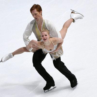 Фигуристы Тарасова и Морозов завоевали серебро ЧМ в соревнованиях спортивных пар