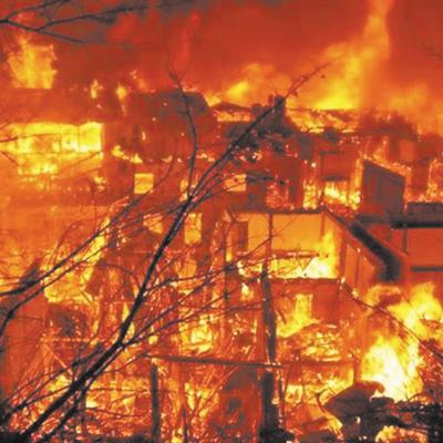 Власти Якутска решат вопрос о пригодности для дальнейшего проживания в сгоревшем доме