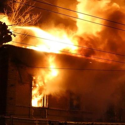 В Новосибирской области в пожаре погибли дети