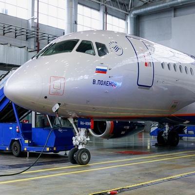 Аэрофлот получил пятидесятый самолёт Superjet 100
