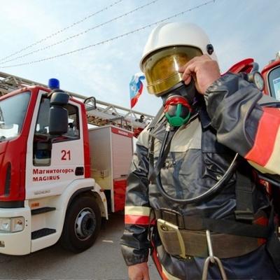 Пожарные локализовали возгорание на рынке в Дмитрове Московской области