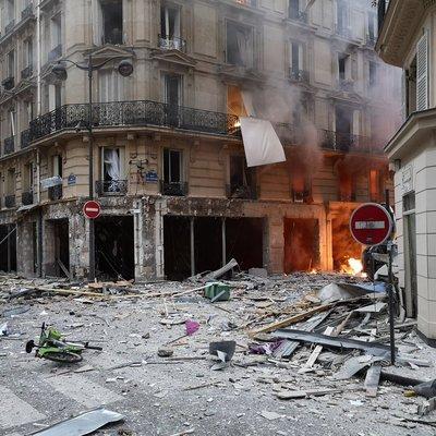 Взрыв в Париже: 4 человека погибло, 50 пострадали