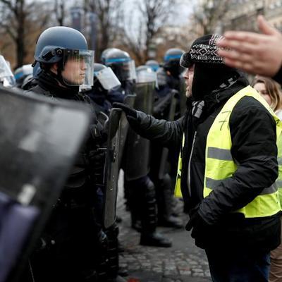 Пять тысяч полицейских будут мобилизованы в Париже из-за очередной акции