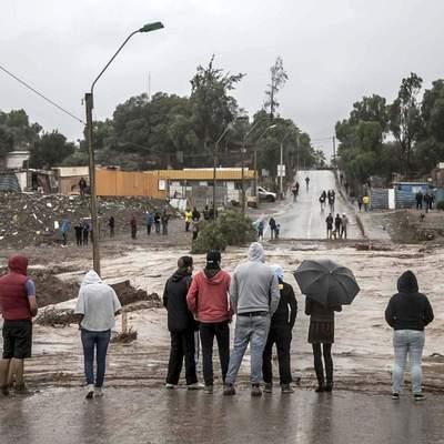 В Чили введен  режим ЧС из-за наводнения в регионе Атакама