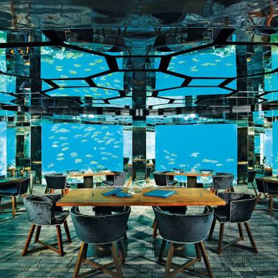 Самый большой в мире подводный ресторан открылся на юге Норвегии