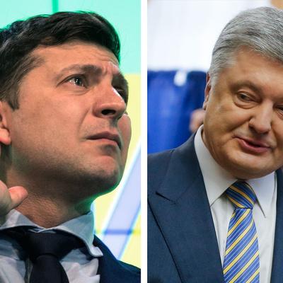 Дебаты между Зеленским и Порошенко начнутся в 19:00
