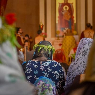 Православные христиане отмечают Вербное воскресенье