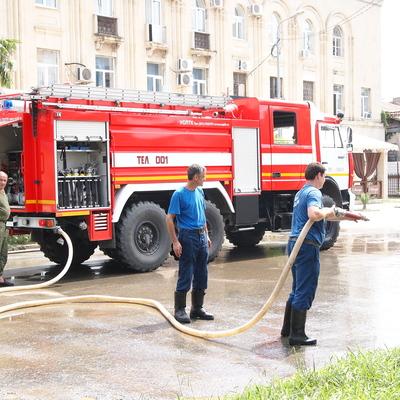 Локализован пожар в жилом доме в Петербурге