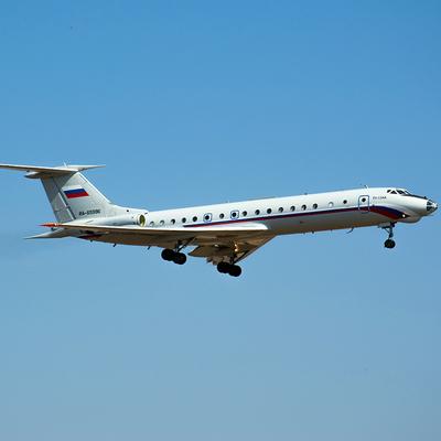 Ту-134 совершил заключительный рейс и отправился в музей
