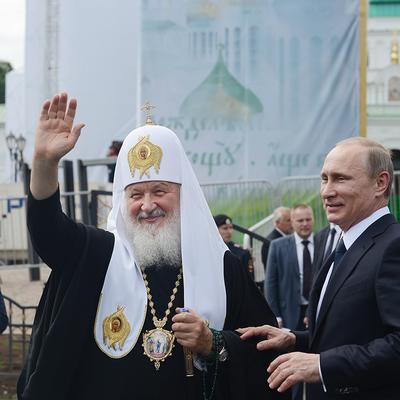 Владимир Путин поздравил патриарха Кириллас Днём тезоименитства