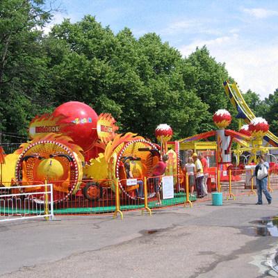 В Белогорске из-за жары изменен режим работы аттракционов