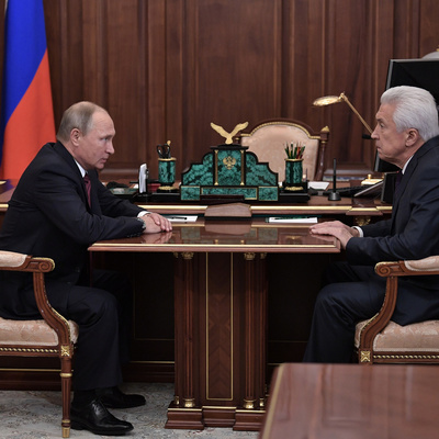 Васильев доложил Путину о дефиците рабочих мест в Дагестане