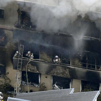 Медики подтвердили гибель 25 человек при пожаре в студии аниме в японском Киото