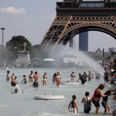 В ряде французских городов могут быть побиты температурные рекорды