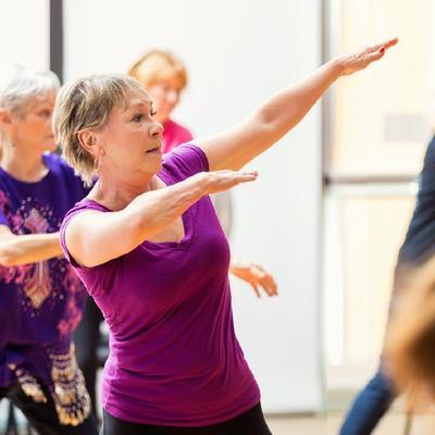 Мировой рекорд по зумбе среди людей старше 55 лет поставят в России