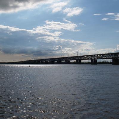 Уровень реки у Комсомольска-на-Амуре превысил опасную для города отметку