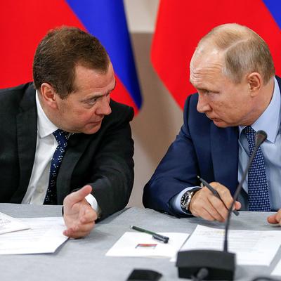 Путин и Медведев обсудили бюджет и финансирование нацпроектов