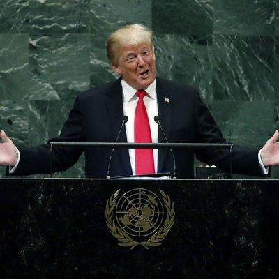 Трамп вновь превысил регламент выступления на Генассамблее ООН