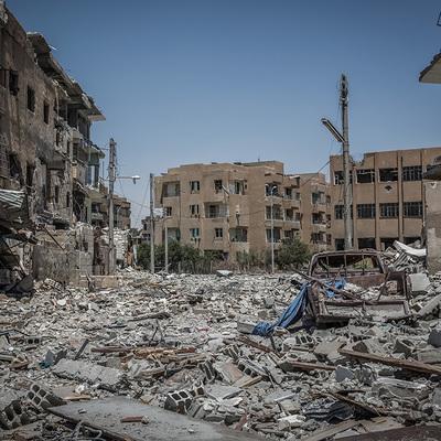 Курдские силы завершили отход из ряда районов Сирии