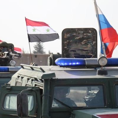Колонна российской военной полиции прибыла в сирийский город Кобани