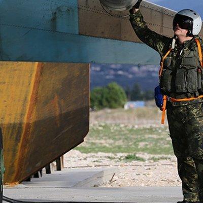 В патрулировании северо-запада Сирии участвовала российская армейская авиация