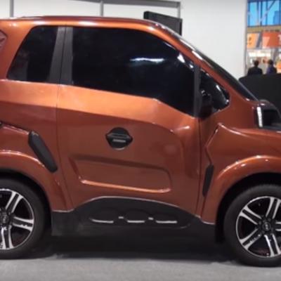 Выпуск первого российского электромобиля Zetta начнется в конце года