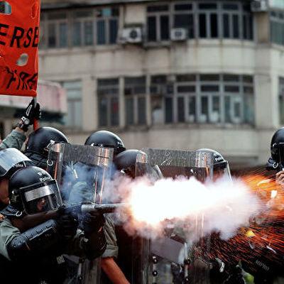 Число задержанных в Гонконге участников протестных акций превысило 7 тысяч человек