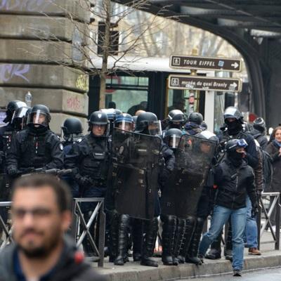 Во Франции продолжается транспортный коллапс