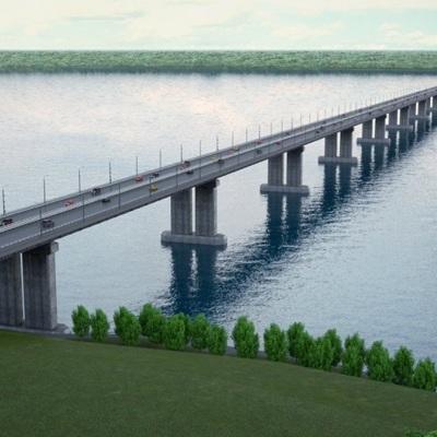 Подготовительные работы для строительства моста через Волгу начались в Самарской области