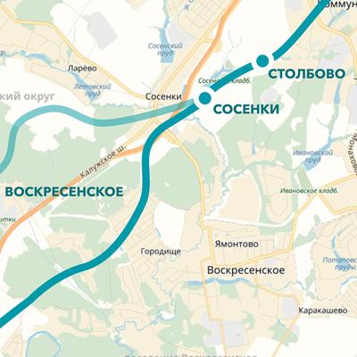 Более 57% участников голосования о метро Троицка поддержали его размещение в центре города