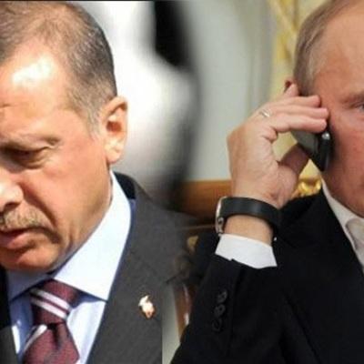 Путини Эрдоган по телефону обсудили развитие событий в Карабахе