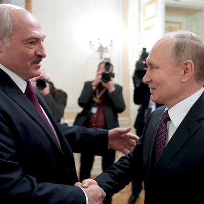 Путин провёл телефонный разговор с Лукашенко