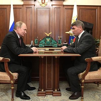Путин встретился с врио главы Чувашии Николаевым