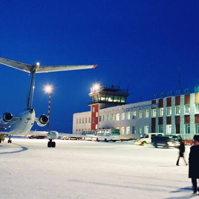 Аэропорт Южно-Сахалинска временно не работает из-за плохой погоды