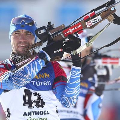 Биатлонист сборной России Александр Логинов взял золото