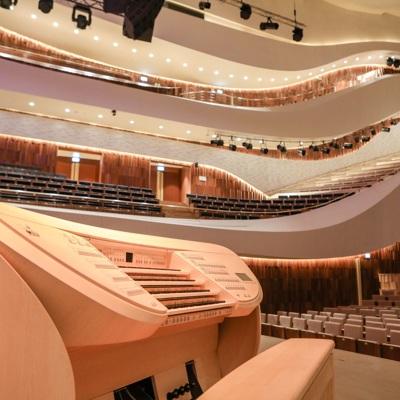 Собянин осмотрел один из крупнейших в Европе орган в концертном зале