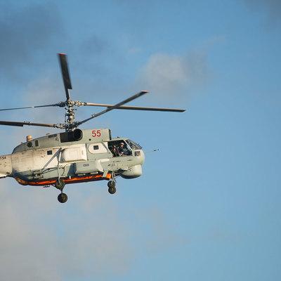 Вертолет Ка-27 совершил жесткую посадку на Камчатке