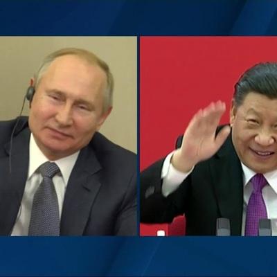 Путин провел телефонный разговор с председателем КНР Си Цзиньпином