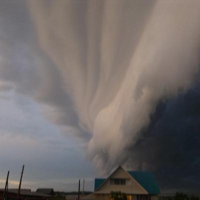 На Екатеринбург сегодня вечером обрушился ураган