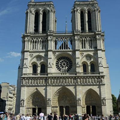 Начались работы по реставрации большого органа собора Парижской Богоматери