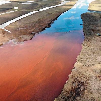 В МЧС назвали сроки работ по ликвидации разлива топлива в Норильске