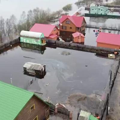 В Красноярском крае жителей поселка эвакуировали из-за подтоплений