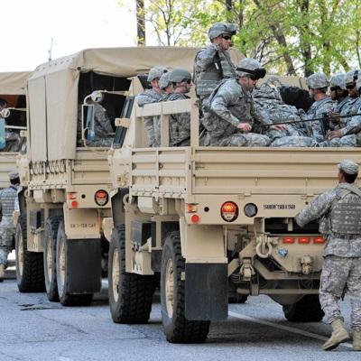 15 тысяч бойцов Нацгвардии США прибыли в Вашингтон