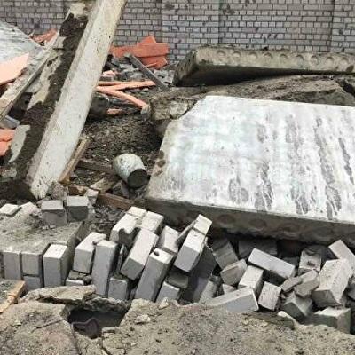 Угрозы дальнейшего обрушения здания в городе Зуевка в Кировской области нет