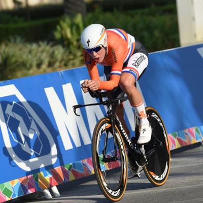 У чемпионки мира по велоспорту Эллен ван Дейк украли велосипед перед началом гонок