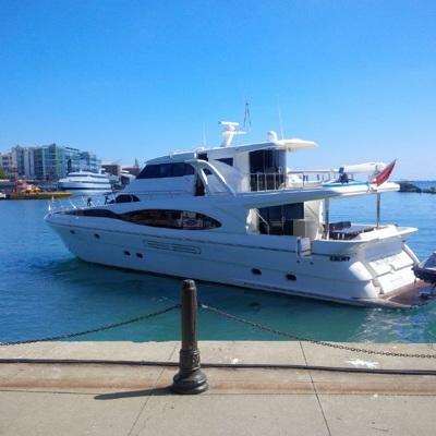 Правительство Хабаровского края сняло с торгов яхту