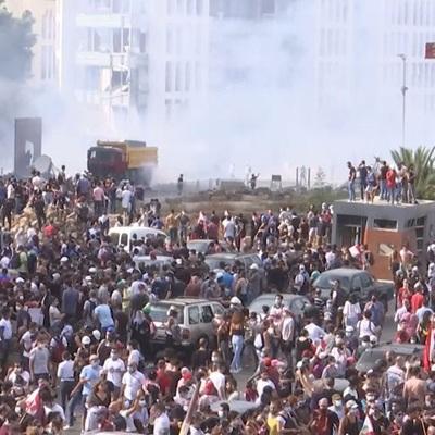Почти 60 человек пострадали во время столкновений в Бейруте