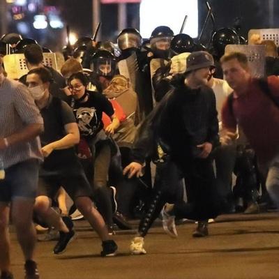 Белоруссия пережила вторую ночь протестов