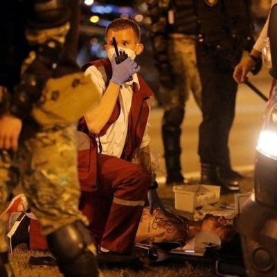 Следователи проводят проверку по факту смерти мужчины в ходе протестов в Минске