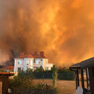 Общая площадь пожаров в Воронежской области увеличилась в два раза по сравнению с утром